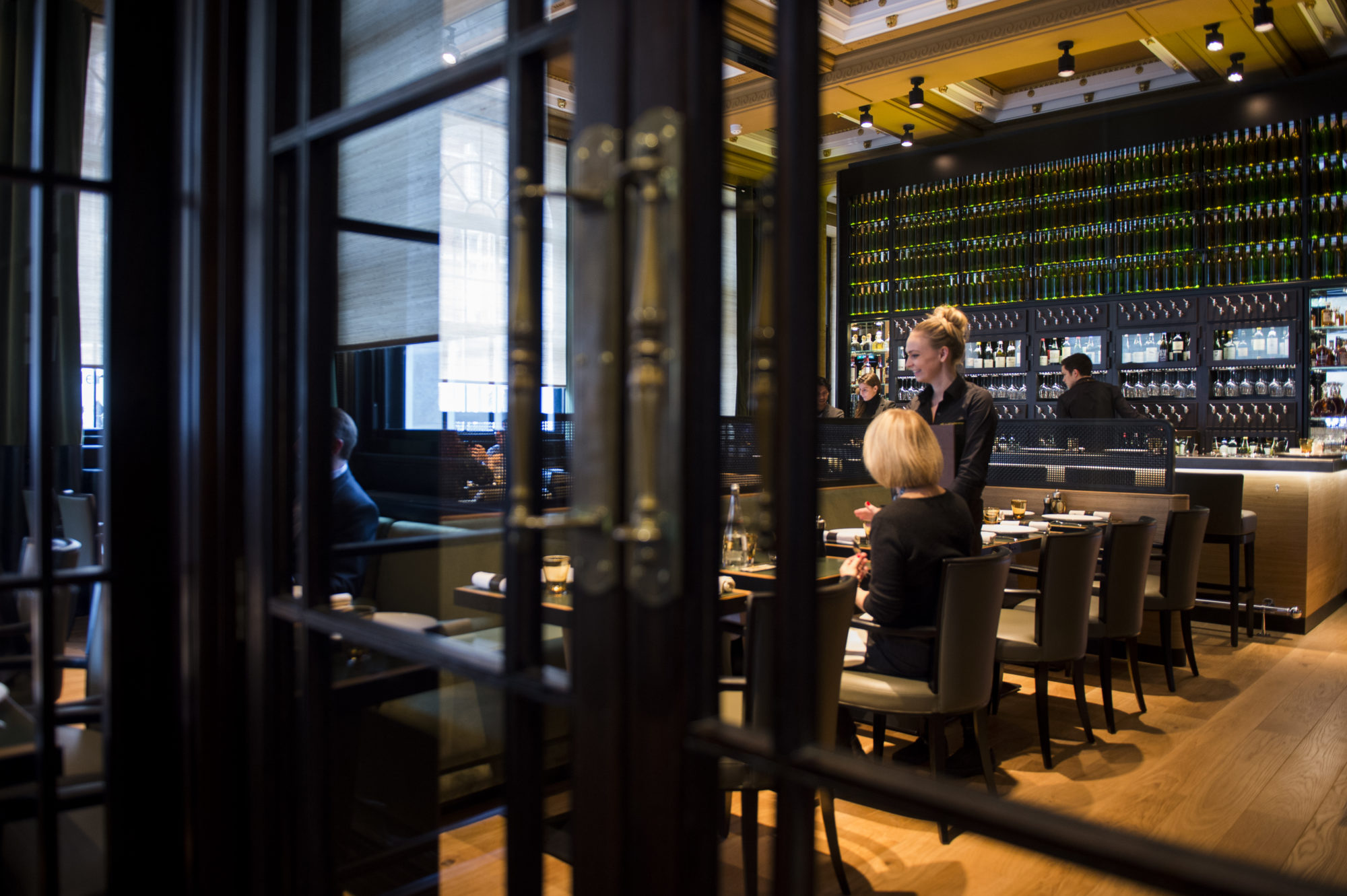 Les 110 de taillevent london french brasserie dining in for Best private dining rooms central london