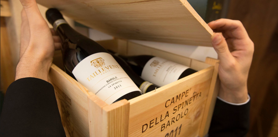 Buy and drink wine at Les 110 de Taillevent